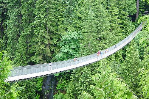 9D8N Capilano Bridge Adrenalin Tour